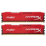 KINGSTON Memory PC 2x 4GB DDR3 PC-15000 [HyperX Fury HX318C10FRK2/8] - Memory Desktop Ddr3